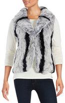 Surell Rex Rabbit Fur Vest