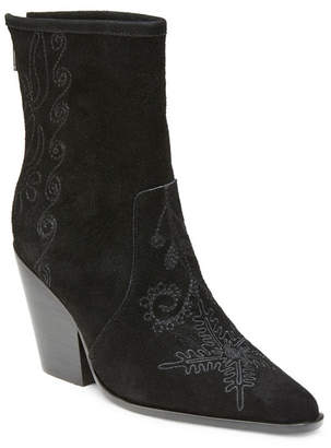 Wilson Rebel Western Chunky Heel Boots Women Shoes