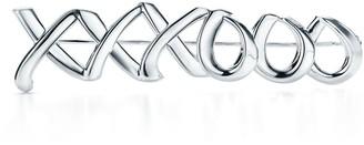 Tiffany & Co. Paloma's Graffiti love & kisses brooch in sterling silver