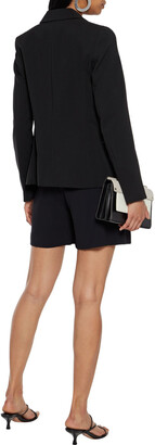 DKNY Zip-detailed Crepe Blazer