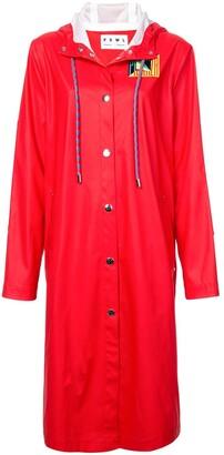 Proenza Schouler White Label PSWL Rubberized Raincoat