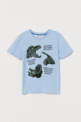H&M Sequined T-shirt