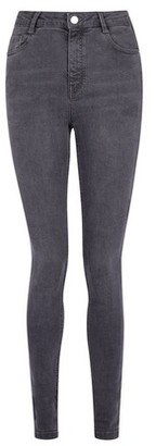 Dorothy Perkins Womens **Tall Grey Shape And Lift Jeans, Grey