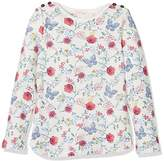 Fat Face Girl's Butterfly Print Long Sleeve Top,4-5 Years