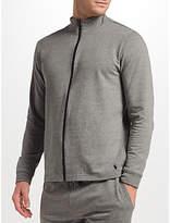 Polo Ralph Lauren Loopback Cotton Full Zip Lounge Top, Grey