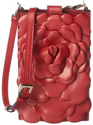 Valentino Rose Edition Leather Shoulder Bag