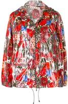 Marni floral zipped jacket