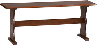 Linon Chelsea Walnut Bench