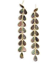 Ippolita Polished 18K Rock Candy Drop Earrings in Onyx