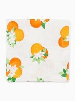 Kate Spade Orange blossom napkin