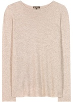 Loro Piana Huntington Knitted Cashmere And Silk Top