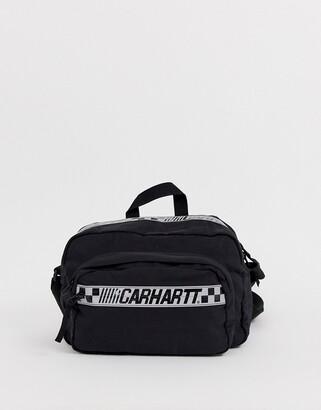 Carhartt Wip WIP Senna shoulder bag with reflective detail in black
