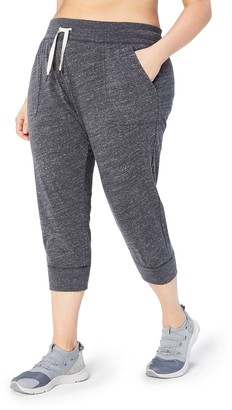 Core Products Amazon Brand - Core 10 Women's Lightweight Cool Down 7/8 Crop Jogger Sweatpant