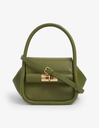 Gu_de Love leather top-handle bag