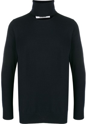 Chalayan Cut Out Roll Neck Jumper