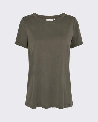 Minimum Rynah t-shirt in racing green - polyester | sage green | Size XS - Sage green
