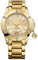Juicy Couture Rich Girl Gold Tone Gold Tone Bracelet Stainless Steel Ladies Watch