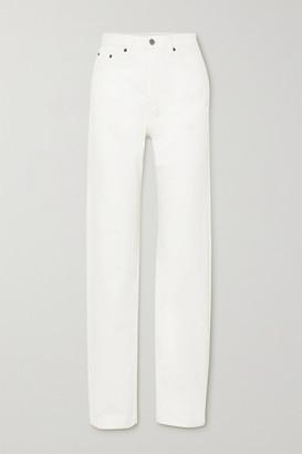 Ksubi Playback High-rise Straight-leg Jeans - White