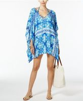 LaBlanca La Blanca True Blue Tile-Print Cover-Up Tunic
