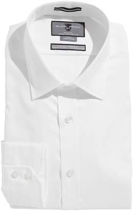 Black Brown 1826 Egyptian Cotton Slim Fit Dress Shirt