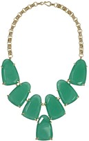 Kendra Scott Harlow Statement Necklace in Green