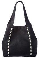 French Connection Del Leather Tote.