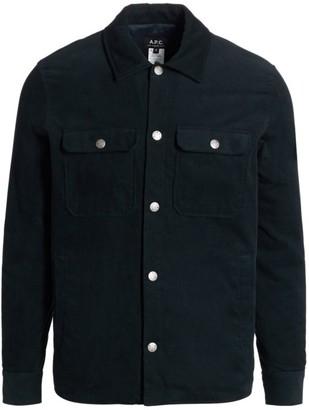 A.P.C. Alex Corduroy Shirt Jacket