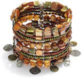 Sonoma life + style gold tone bead cuff bracelet