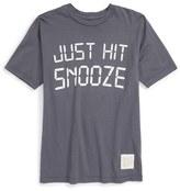 Original Retro Brand 'Just Hit Snooze' Graphic T-Shirt (Big Boys)