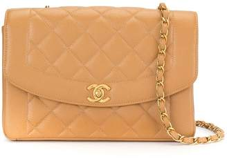Chanel Pre Owned 1997s Diana quilted single chain shoulder bag