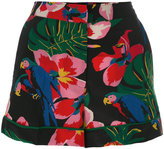 Valentino Tropical Dream shorts - women - Silk/Spandex/Elastane/Lyocell - M