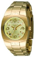 Vestal Women's MGH001 Mini Gearhead Gold Ion-Plated Watch