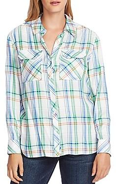Vince Camuto Plaid Shirt