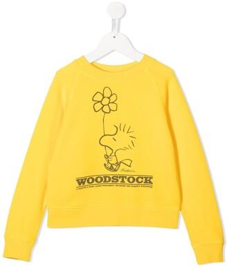Little Marc Jacobs Peanuts Woodstock graphic-print sweatshirt