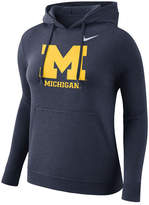 Nike Women's Michigan Wolverines Club Hooded Sweatshirt