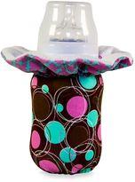 WarmZe Portable Bottle Warmer Starter Kit in Blue Geometric