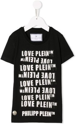 Philipp Plein Round Neck SS TM T-shirt