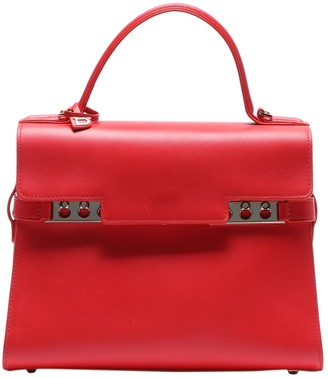 Delvaux TempAte Red Leather Handbags
