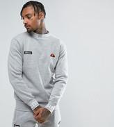 Ellesse Sweatshirt With Repeat Logo Neck In Gray