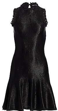 Alexander McQueen Women's Sleeveless Mini Dress