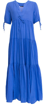 Devotion Melina Maxi Dress Blue - S