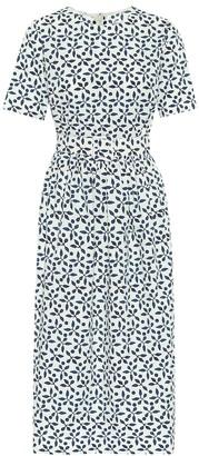 Exclusive to Mytheresa Printed stretch-cotton midi dress