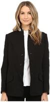 Y's by Yohji Yamamoto U-Stand Up Collar Linen Blazer Jacket