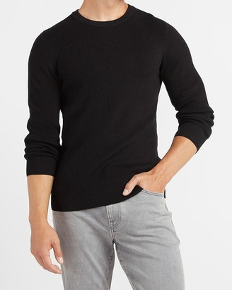 Express Rayon Stretch Crew Neck Sweater