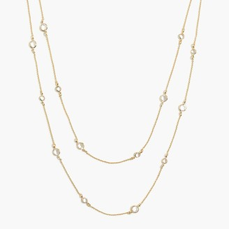 J.Crew Layering charm necklace