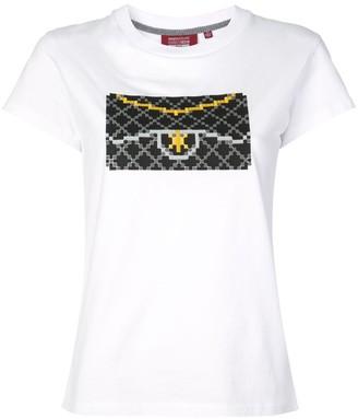 Mostly Heard Rarely Seen 8 Bit Black Clutch T-shirt
