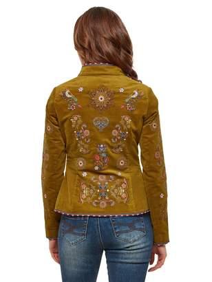 Joe Browns Ultimate Embroidered Velvet Jacket