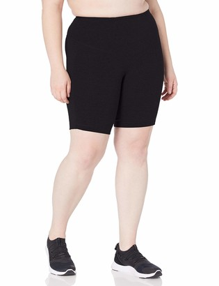Rainbeau Curves Women's Plus Size Basix Compression Bike Short