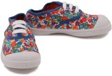 Bensimon Flowery Lace up Trainers