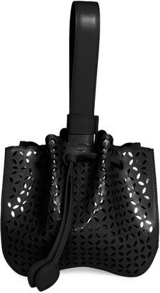 Alaia Rose-Marie Leather Bracelet Bag